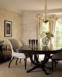 beautiful candice olson bathroom designs contemporary dining room dark table with light colored chairs wallpaper