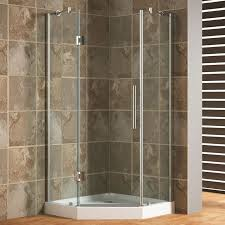 Creativity Shower Cubicles For Small Bathrooms Frameless Neoangle Enclosure On Design Decorating