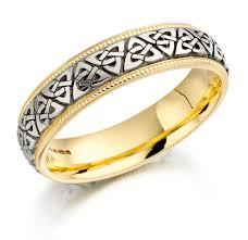 mens celtic knot wedding bands. trinity knot wedding ring \u2013 ladies two tone celtic irish band mens bands