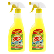 Elbow Grease 2X500ml All Purpose Kitchen Laundry Household Degreaser  Cleaner Spray: Amazon.co.uk: Kitchen & Home