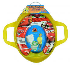 Potty Chair Cushioned Potty Training Seat With Handle Cars