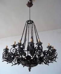 furniture pretty rustic iron chandeliers 24 b00mgy9c0w