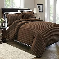 brown duvet cover queen. Perfect Queen Sable Fur Duvet Cover Set In Brown Throughout Queen A