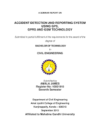 Accident System Report On A And Reporting Seminar Detection Pdf qRAxIzCSwz