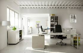 Image Beautiful White Home Office Inspiration Princegeorgesorg White Home Office Inspiration Modern Industrial Office Design Ideas
