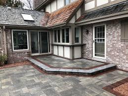 paver brick natural stone patios