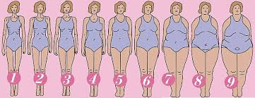 Female Body Types Chart Girl Weight Scale Type Chart Body Types Body Chart