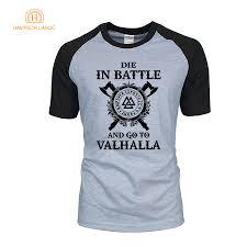 Die In Battle And Go To Valhalla <b>TV</b> Show Viking Men T Shirts 2019 ...