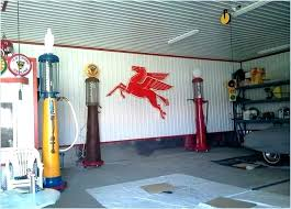 metal roofing interior walls corrugated steel wall panels garage model garages wi