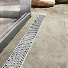 Drainage Channel Design Aluminum Drainage Channel Flat With Grating Patio