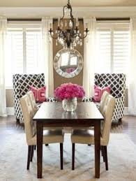 retro brown white pink traditional dining room dining room inspirationhome