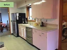 Retro Renovation Kitchen Christine Gives Her Pink 1962 Lyon Kitchen Some Retro Tlc