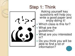 writing a research paper in easy steps