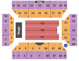 Floyd L Maines Arena Seating Chart Floyd L Maines Veterans Memorial Arena Tickets Seating