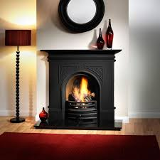pembroke black cast iron fireplace with flueless magiflame alchemy bioethanol fire flueless bioethanol fireplaces
