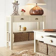 small cream console table. Hallway Console Table Andorra Cream Wooden Lamps Lighting Baskets Two Drawers Candles Flowers Images Picture Small W