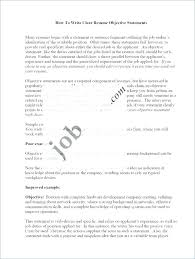 Whats A Good Job Objective For Resumes Resume Job Objective