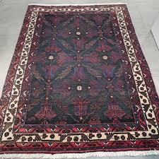 rare dark antique afshar persian rug 177 x 136 unique look very special and valuable rug