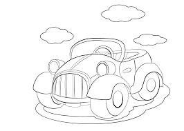 Kleurplaten Auto Citroen