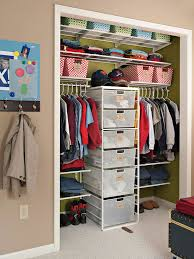 if your bedroom is small consider placing your dresser inside the closet you can install shelving above it and still maximize the vertical space a closet