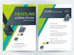 Brochure Template Design Free Flyer Template Design With Modern Style Vectors Stock In