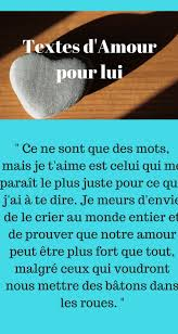 Texte Damour Pour Lui Dire Je Taime Amour Texte Amour Message