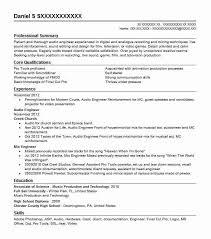 Audio Engineer Resume Sample | Engineering Resumes | Livecareer