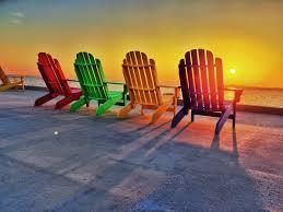 adirondack chairs on beach sunset. Perfect Chairs Sunset Orange Yellow Sarasota Ringlingmuseum Sarasotaflorida Sarasotabay  Adirondackchairs Ringlingmansion Cadu0027zan Sarasotasunset Throughout Adirondack Chairs On Beach Sunset