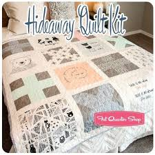 Sewing for the Nursery- Hideaway Quilt Kit at Fat Quarter Shop ... & Nest fabrics can be used for so many great sewing projects to fill your  little one's nursery! View the Nest Fabrics LookBook for more sewing  projects to add ... Adamdwight.com