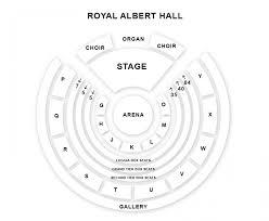 royal albert hall seating plan