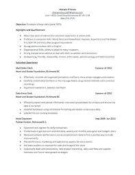 File Clerk Resume Template Inspiration File Clerk Cover Letter Job Description For File Clerk File Clerk