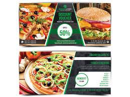 Food Voucher Template Stunning Discount Voucher Template By Runner Design 🎯 Dribbble
