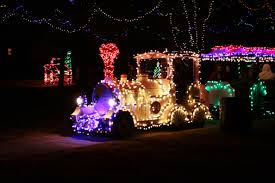 Yukon Holiday Lights New Train Comes To Christmas In The Park City Of Yukon