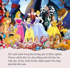 Cảnh báo: Hoạt hình Disney có thể gây ra những ảnh hưởng tiêu cực đến trẻ  nhỏ