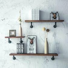 pipe toilet paper holder vintage industrial wall mount wood storage shelf iron pipe toilet paper holder pipe toilet paper
