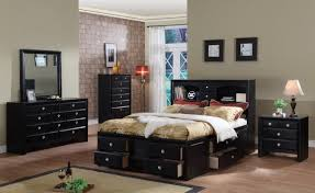 white room with black and white furniture black painted bedroom furniture