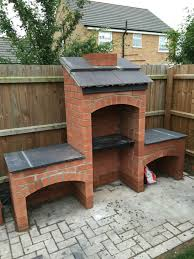 Barbecue Design For Garden My Brother Built Me This Awesome Masonry Bbq In My Back