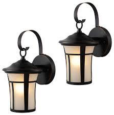 oil rubbed bronze outdoor patio porch exterior light fixtures set of 2