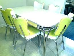 Retro Kitchen Table And Chairs Yellow