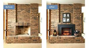 converting gas fireplace to wood converting a gas fireplace back to wood burning electric insert before