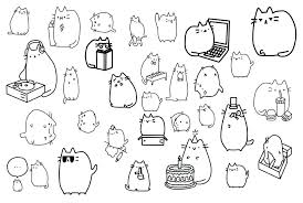 Pusheen Coloring Pages To Print Coloring Pages Packed With Download