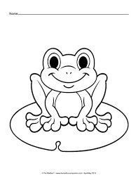 Small Picture 25 unique Frog coloring pages ideas on Pinterest Frog template