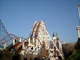 Blackpool pleasure beach big dipper