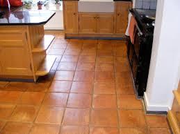 terracotta floor tile kitchen