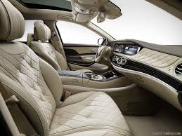 Dashboard Of Mercedes Benz Maybach S600 - Car Pictures, Images ...