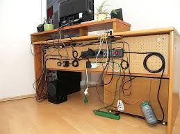 computer desk with cable management amazing best