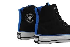 converse shoes black and blue. two layer chuck taylor all star black and blue high top canvas shoes, converse sale shoes m