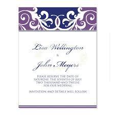 purple blue wedding invitation kit jordana plum diy printable wedding invitation templates