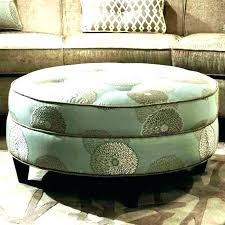 round cocktail ottoman upholstered coffee table storage gallery round cocktail ottoman upholstered square leather tufted decoration