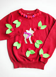 diy how to make your own ugly sweaters mother daughter sweaters matching